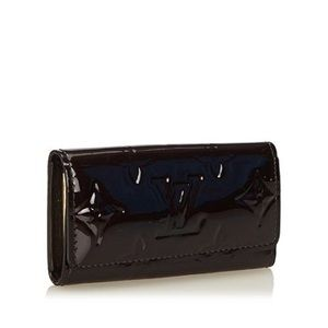Authentic Louis Vuitton Black Vernis 4-Key Holder